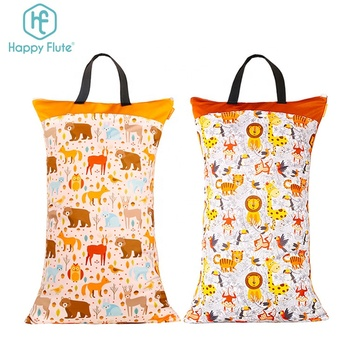HappyFlute Fashion design wet and dry cloth diaper bag