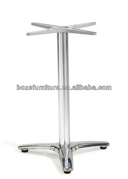 Lovely Aluminum Table Support/outdoor Table Base With Flexible Table Top/Aluminum  Flexible Table Leg