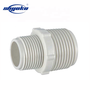 PVC/UPVC/CPVC Pipe Fitting Male Adapter Thread PVC Nipple