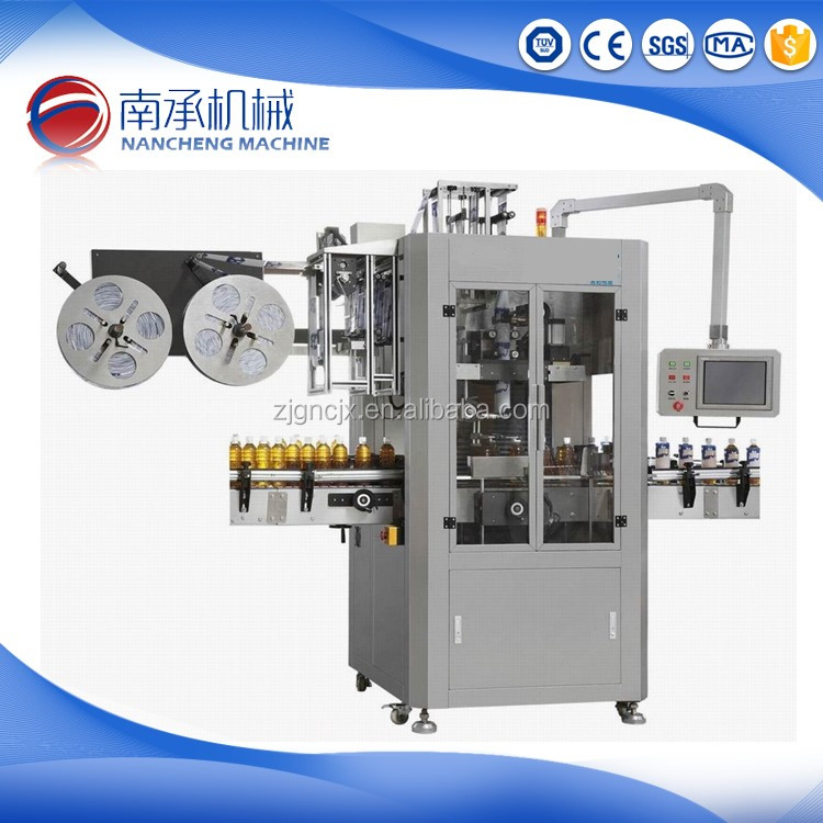 New Design Zhangjiagang Double Head Pvc Shrink Sleeve Labeling Machine