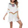 Wholesale Comfortable Pretty Sun protection Hollow Cover Up Women Beach Wrap Dress