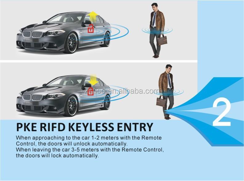 Keyless Go Remote Start Push Button Engine Start Stop System For ...