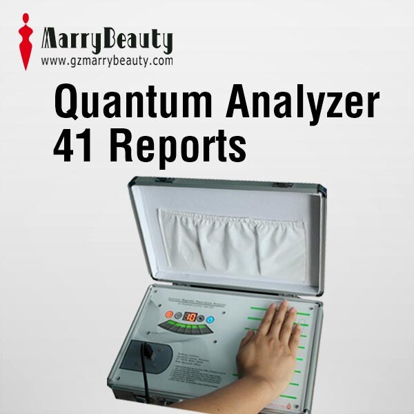 2016 new product quantum magnetic resonance body analyzer software with 41 reports