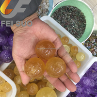 Wholesale yellow calcite stone spheres