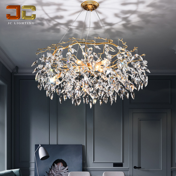 Simple Modern Crystal Chandelier Restaurant Pendant Light For Living Room -  Buy Modern Chandelier,Chandelier Living Room,Modern Lighting Product on ...