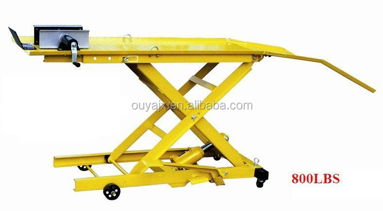 Hydraulic Motorcycle Lift 800LBS(CE)