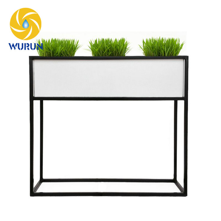 Wholesale Wire Garden Decoration Tall Metal Planter Display Iron ...