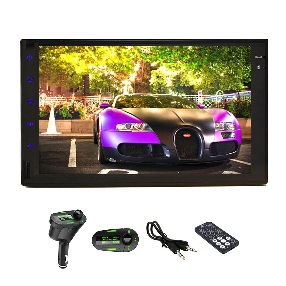 Christmas Sale!!! Electronics Best Seller HD 7 PC inch Pure Android 4.2 Tablet Car Logo Radio Universal Double Din Stereo In Video Dash Car None DVD MP3 DVD Player GPS Navigation Stereo AM FM