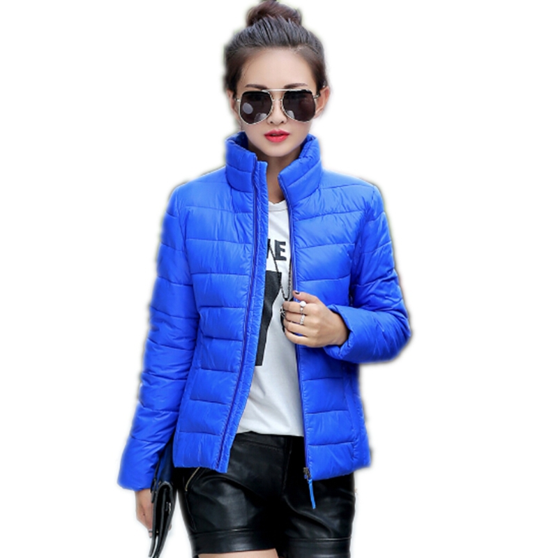 13 Colors 2015 Fashion Winter Women Down Jackets Coat Plus Size Cotton Padded Women Parkas Womens Jackets And Coats CC2171W