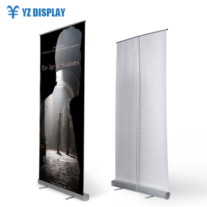 Floor Standing China Banner Double Sided Roll Up For Promotion