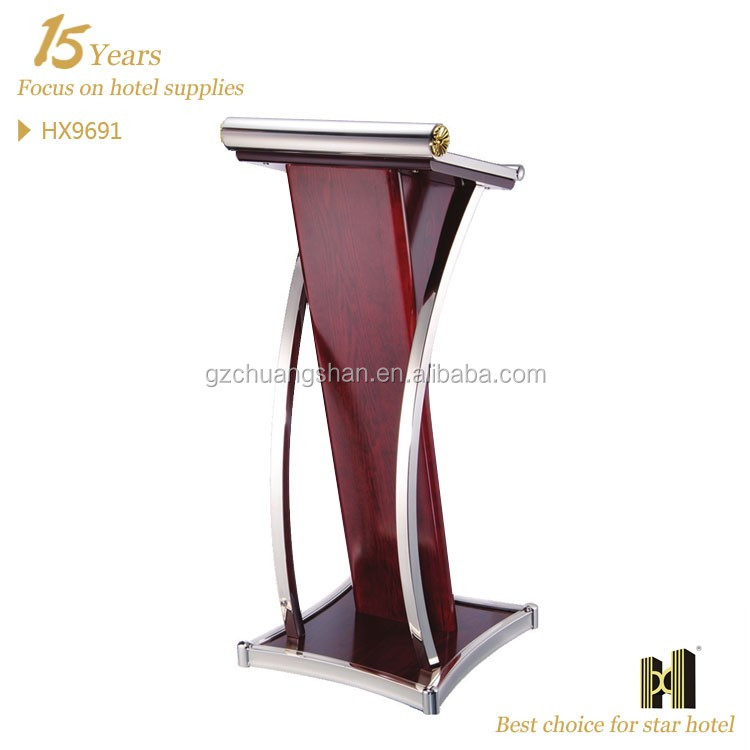 clear plastic church podium/acrylic rostrum/rostrum