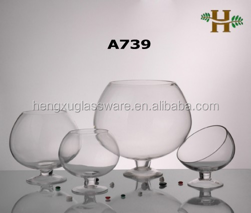 Wholesale Handblown Clear Glass Bowl Vases Buy Glass