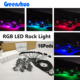 16 Pod Boat Accessories 12V Led Deck light Offroad Rgb Rock Light Wiring harness+Bluetooth App Music Control Led Lights