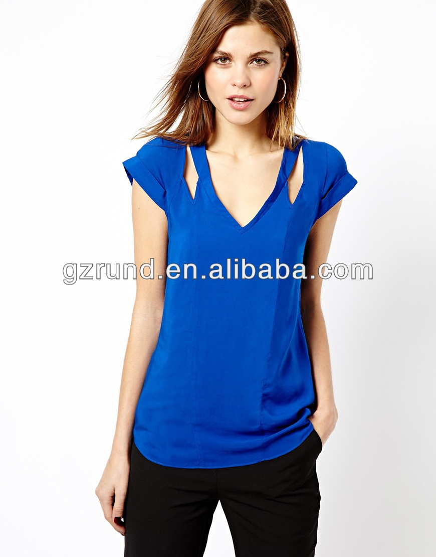 Latest long tops designs for girls,new fashion latest chiffon girls tops,sexy ladies tops latest design for women Pieces (Min. Order) 5 YRS Guangzhou Liule Garments Co., Ltd.