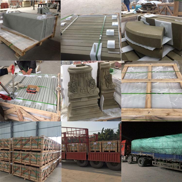 Sichuan Wood Vein Sandstone Paving Stone