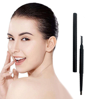 No logo eyebrow pencil for eye brow High quality plastic herbal makeup eyebrow pencil