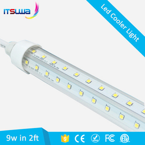 high lumen v shape t8 led tube for cooler refrigerator freezer lamp