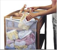 Baby Item Hang Organizer Bag / Baby Crib Side Diaper Storage Bag / Baby dirty clothes storage bag