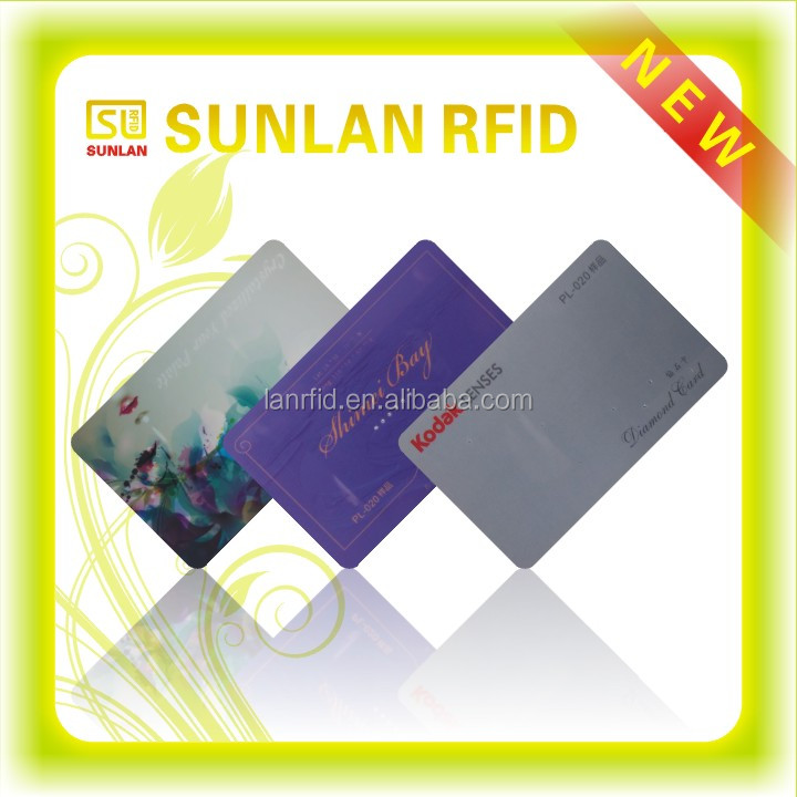 Customized Printed Rewritable LF/HF/UHF Programable Smart RFID Card
