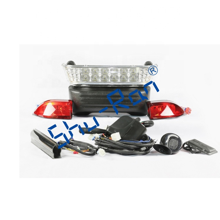 ShuRan Club Car Precedent Deluxe LED Light Kit with Turn Signal Used for Golf Cart