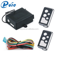 Cheap one way car alarm security system with engine start function