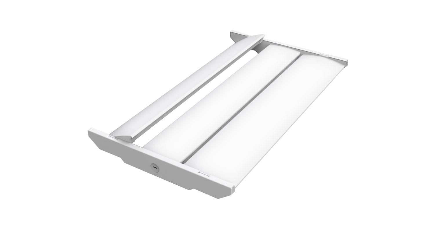 ETL DLC линейный высокий залив 150 W 160lm/w светодио дный 2' коммерческих светодиодное освещение мерцание бесплатная 5000 K