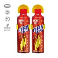 liquid foaming to extinguish fire motorcycle vehicle fire extinguisher small aerosol spray
