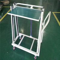 New design rise and fall hand airport luggage trolley of gravity
