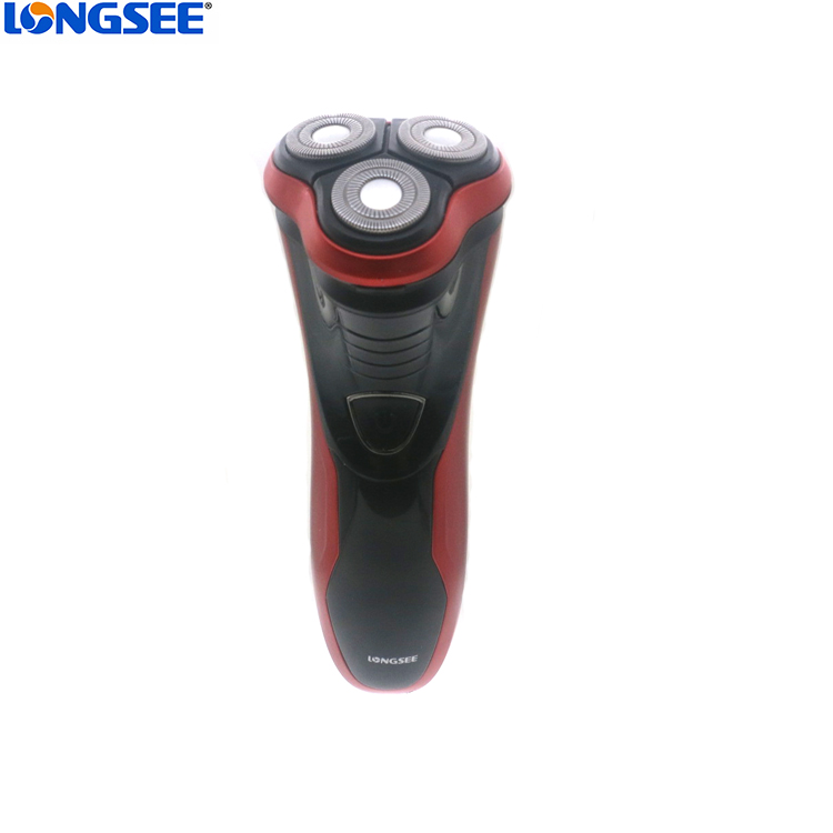 Triple head electric blade shaver for men