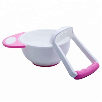 Mash and Serve Milling warm Bowl spoon for Making Homemade Baby Food