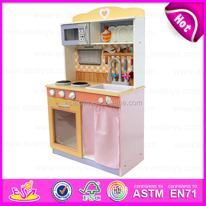 2015 Pretend Kitchen Toy For Kids,Colourful DIY Wooden Children Kitchen Toys,Best  Selling