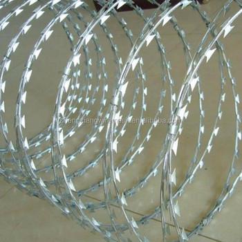 Competitive Price Razor Barbed Wire Concertina Razor Wire Fake Razor ...