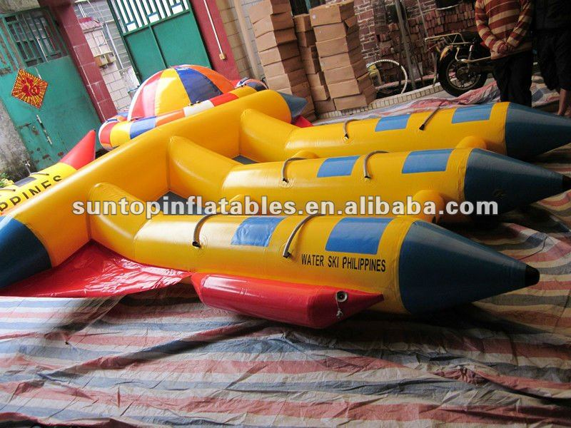 inflatable pvc fishing boat with 0.9mm PVC quality materials and good price