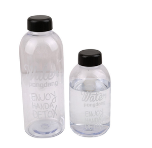 Large Capacity 1000ml 600ml Plastic Water Bottles kids Students sports Bottles Creative Juice Bottle