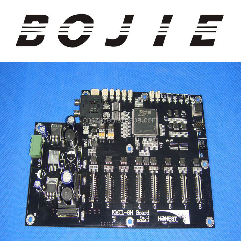 Printing machinery parts Honest head card KM256 KMCL-8H board Ver.1.1