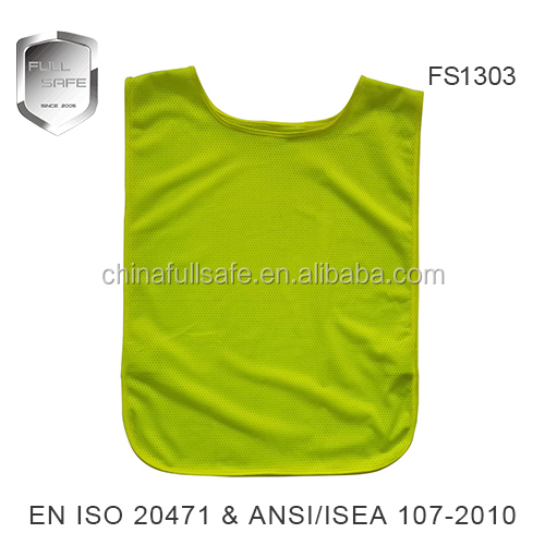 cheap high quality colorful training safety vest