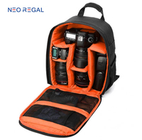 China Supplier Wholesale Waterproof Large DSLR Travel Camera Bag Backpack