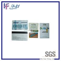 barcode transparent inkjet pvc card