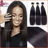 wholesale factory price high quality full cuticle indian remy straight raw hair