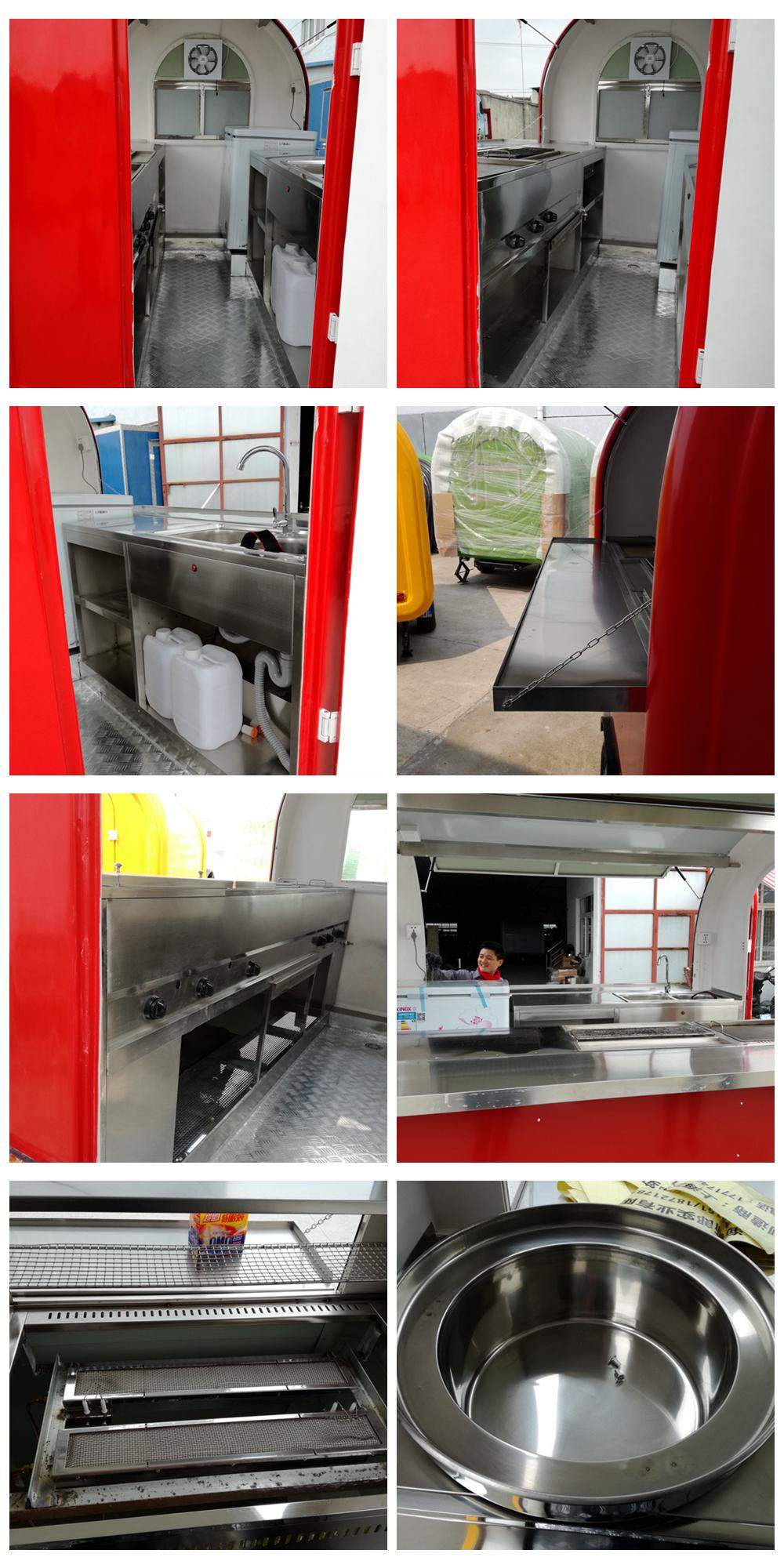 Cp230165230 Merah Mobile Truk Makanan Ponsel Kebab Van Dapur Kios Dijual Malaysia