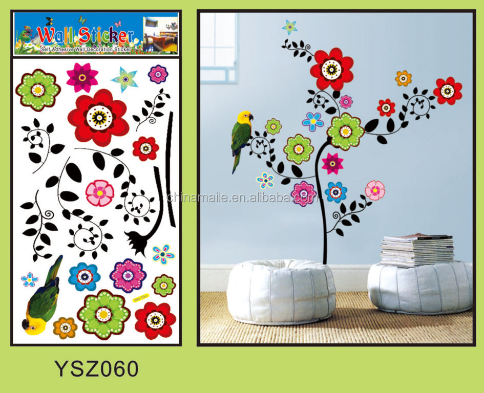 kustom dapur dekorasi kupu-kupu dilepas stiker dinding/3d wall