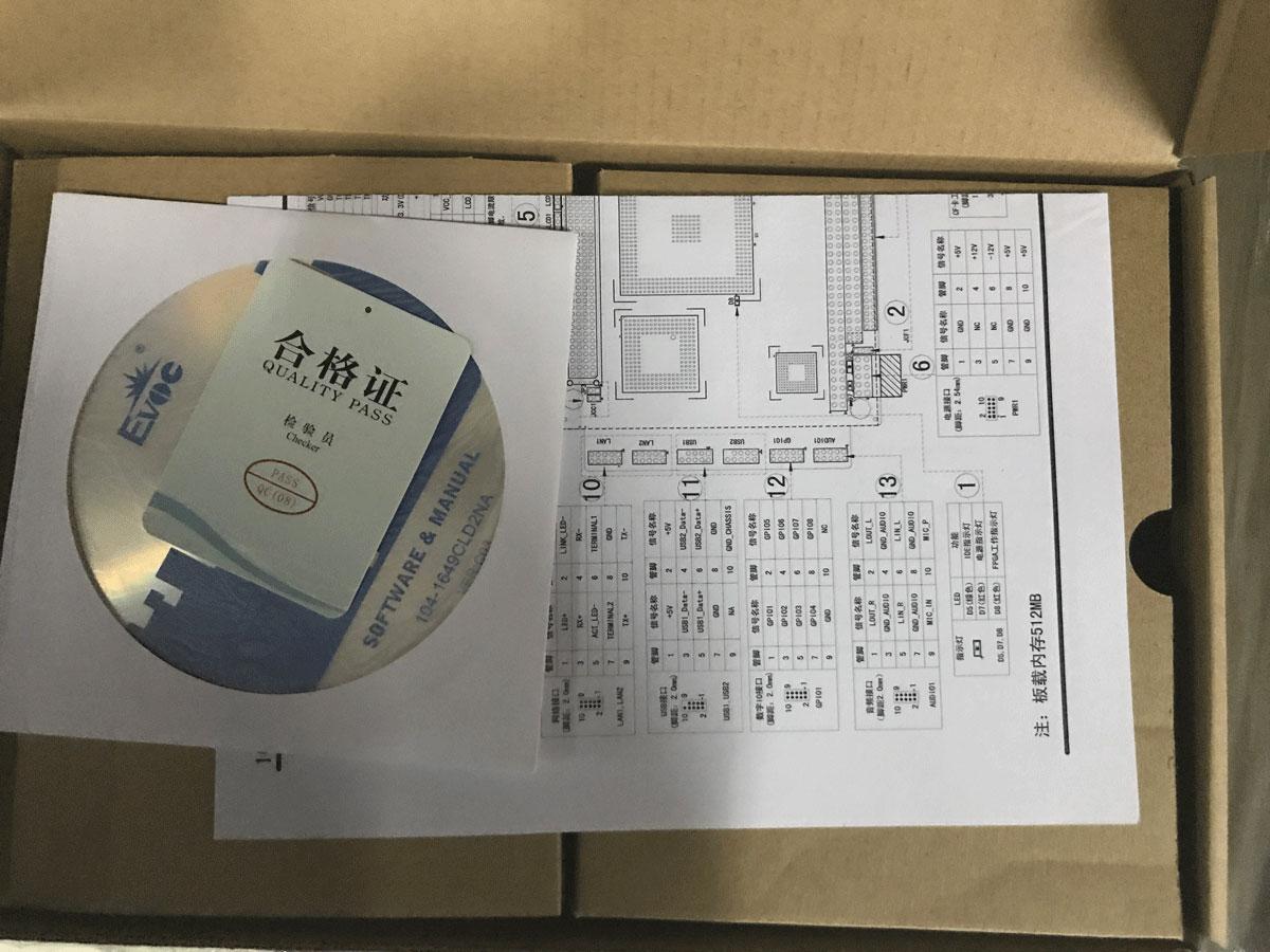 Intel J1800 2.41 GHz Dual Core 4 LAN เครือข่ายเมนบอร์ดสาย VGA