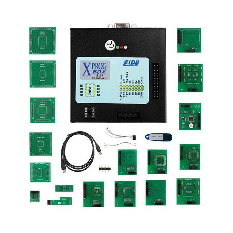 2016 новая версия XPROG м Box V5.55 экю чип тюнинг программер авто-ecu программер инструменты автомобиля диагностический программер бесплатная доставка