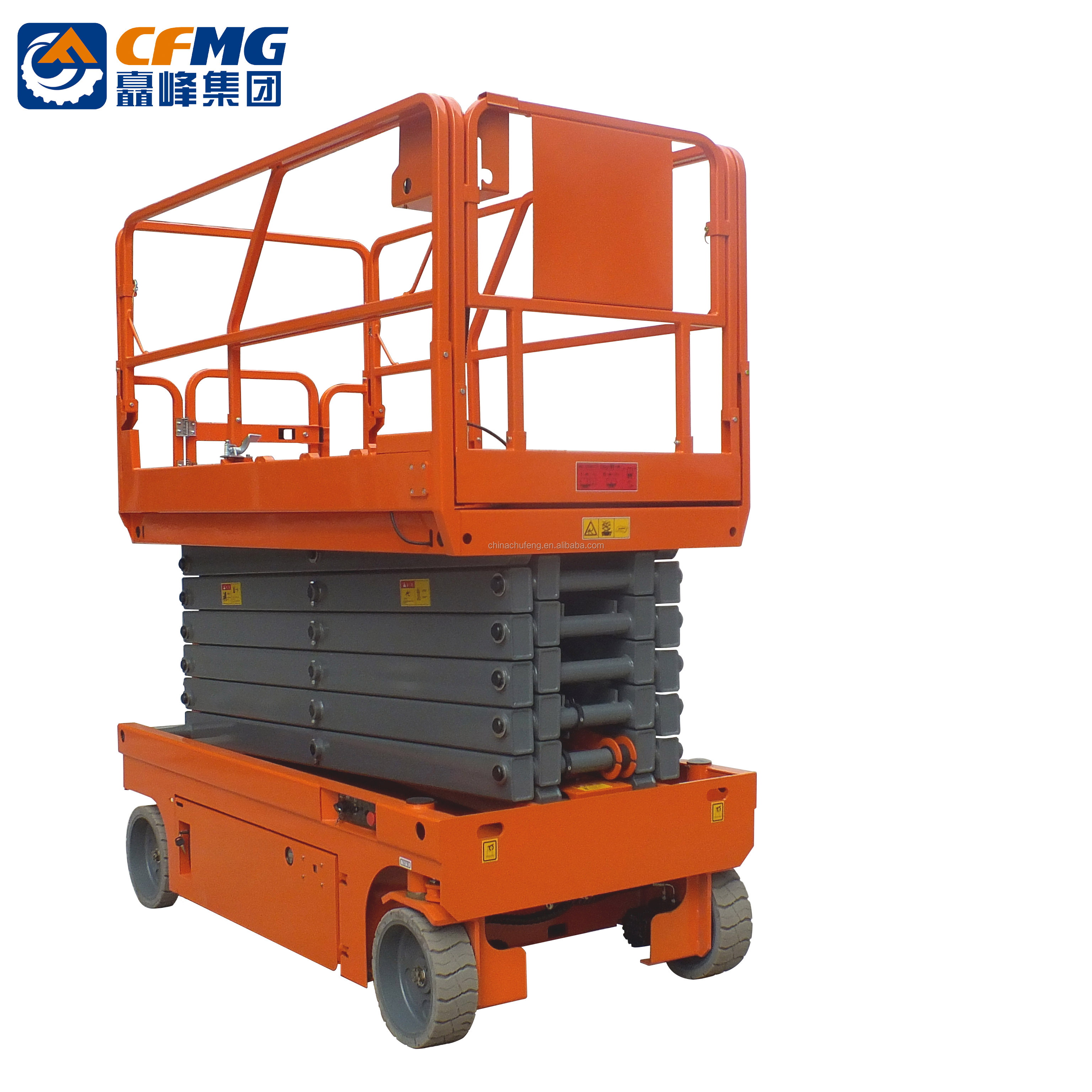 New Arrival Factory Supplied Cleaning Cranes one/two/three Man Scissor Lift with CE