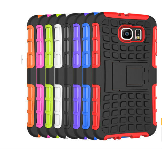 For Samsung S6/S6 edge case wholesale TPU PC mobile cover case with good quality/mobile phone accessories factory