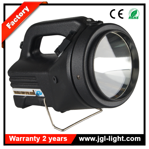 High power 100w 3500lm HID rechargeable spotlight with belt
