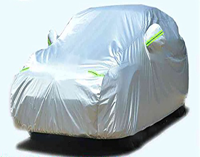 All Weather Indoor Outdoor Waterdicht Winddicht Stofdicht Auto/SUV Cover met Reflecterende Strip