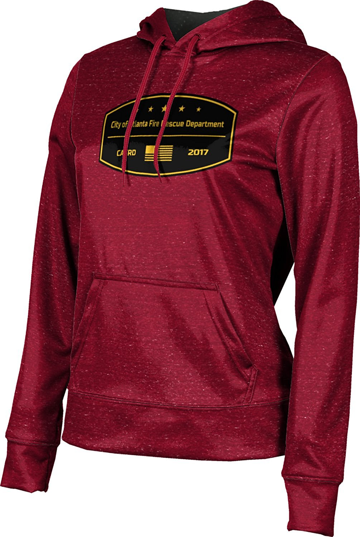 ProSphere Girls' City Of Atlanta Fire Rescue Department Fire Department Heather Hoodie Sweatshirt