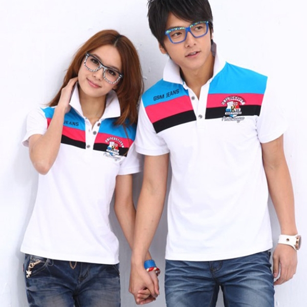 Custom cute couple polo shirt design in china buy cute for Couple polo shirts online
