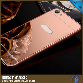 huge discount 3e982 99a0a Metal Bumper Mirror Cover Case For Vivo V5 Plus Mobile Phone Case - Buy  Cover Case For Vivo V5 Plus,Case For Vivo V5 Plus,For Vivo V5 Plus Mobile  ...